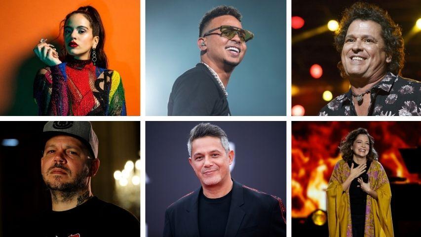 Lista de los ganadores en los premios Latin Grammy 2020