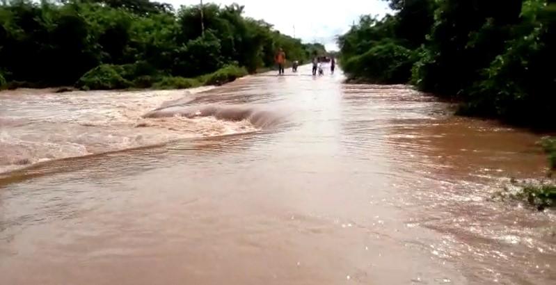 Desbordamiento río Limón