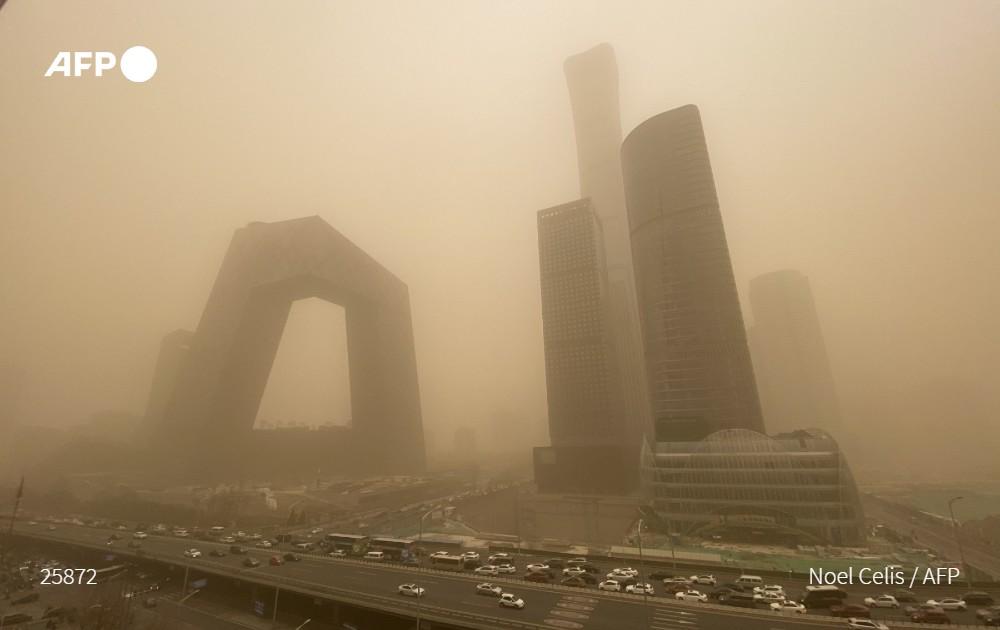 AFP | Tormenta de arena en Pekín
