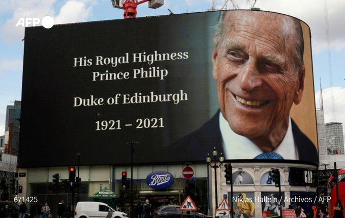AFP   Príncipe Felipe