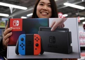 Nintendo Switch Foto AFP