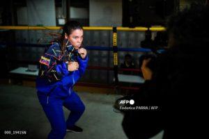 Boxeadora Irismar Cardozo