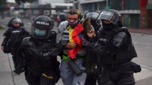 Protestas en Colombia   Foto: Cortesía