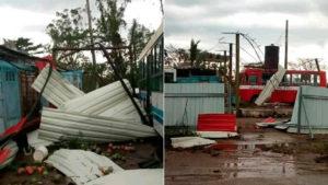 Tornado en Cuba   Foto: Cortesía