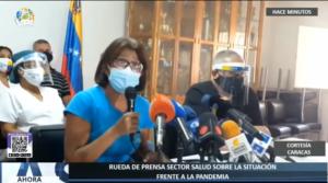 Denunciaron que solo 34 % del sector salud venezolano ha sido vacunado contra la covid-19