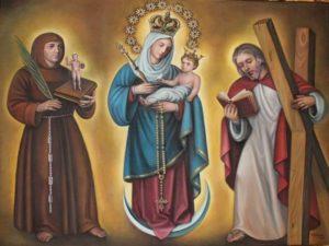 Mantos Nuestra Señora de Chiquinquirá